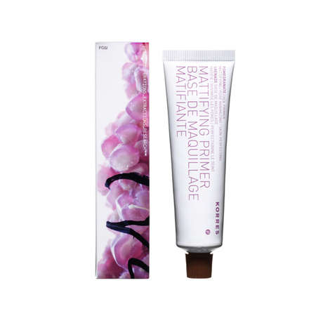 Natural Pomegranate Makeup Primers - The Pomegranate Mattifying Primer from Korres is All-Natural