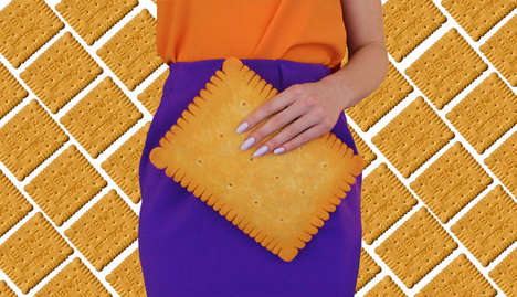 Realistic Biscuit Purses - Etsy's Rommydebommy Shop Specializes in Food-Inspired Accessories