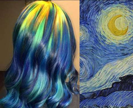 Famous Painting Hairstyles