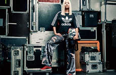 Geisha Sportswear Collections - The 'Asian-Arena' Adidas Originals Infuses Asian Clothing Culture