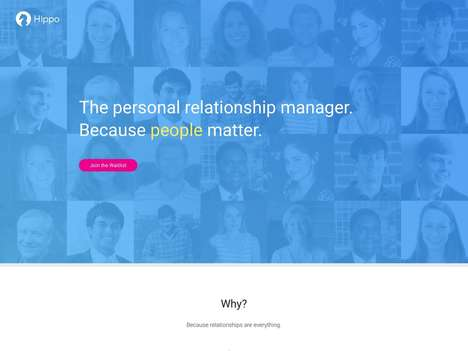 Relationship-Managing Apps - Personal Relationship Manager Hippo Helps You Remember the Small Things