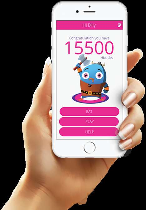 Obesity-Preventing Game Platforms - FITSKO Uses Playful Mobile Games to Encourage Fitness For Kids