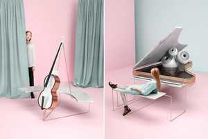 The Artistic Series Explores the Relationship With Musical Instruments