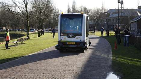 Public Driverless Shuttles - The Self-Driving WEpod Vehicles are on Public Roads in the Netherlands