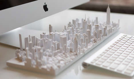 Architecturally Accurate Tiles - The Microscape Series Depicts 200 Different Cities in Hyper Detail