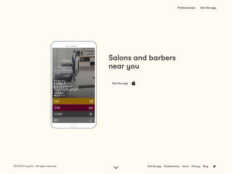 Hairdresser Scheduling Apps - Barber and Beauty Salon App Fonzy Simplifies Your Appointment Bookings