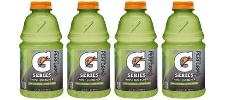 Luxe Spa Sport Drinks - The Gatorade Cucumber Lime Flavor Plays off of Relaxing Water Tonics