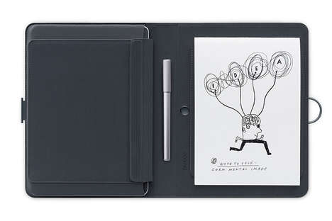 Smart Folio Tablet Cases - The Bamboo Spark is Offers a Balance Between Hand Written Notes and Tech