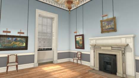 VR Gallery Tours - The Courtauld Gallery Now Allows Patrons to View Its Exhibits from Home