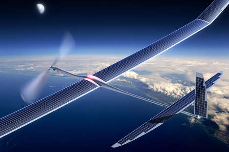 Drone-Powered Internet - Google's 'Project Skybender' Looks to Deliver 5G Internet via Drones