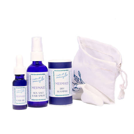 Mermaid Hair Care Sets - The Mermaid Set from Captain Blackenship Creates Beach-Inspired Waves