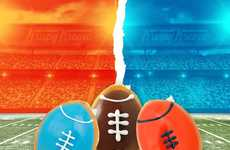 Football-Shaped Donuts - These Super Bowl-Themed Treats are Perfect for Game Day