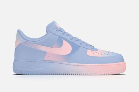 Iconic Pastel Sneakers - Zkay Yong Designs Pantone Air Force Ones with the Year's Winning Colors