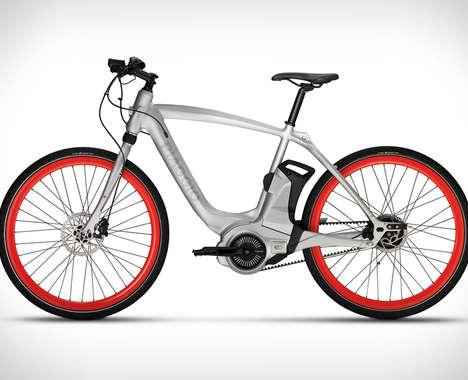 App-Connected E-Bikes