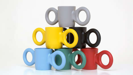 Movie-Inspired Coffee Cups - This Colorful Children's Cup Features Oversized Ears for Handles