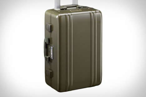 Rugged Retro Carry-Ons - This Durable Suitcase Combines Vintage Design with Modern Features
