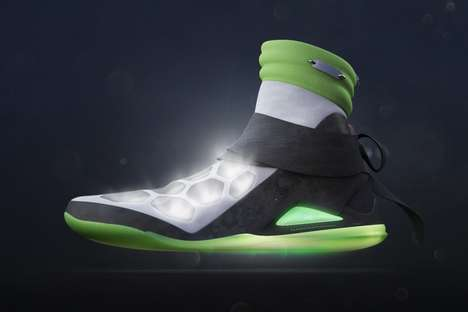 Ninja Turtle Footwear - Two Artists Imagine a Shoe Fit for the Teenage Mutant Ninja Turtles
