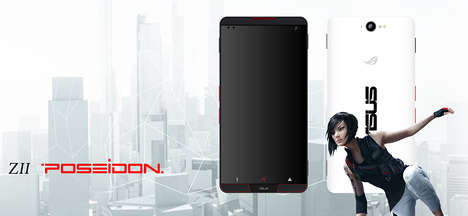 Extreme Gamer Smartphones - The ASUS 'Z2 POSEIDON' is a Powerful Smartphone Concept for Gamers