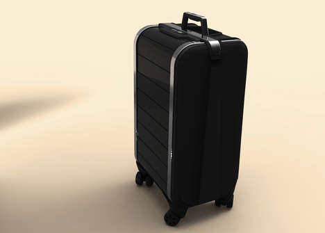Zipper-Free Suitcases - The 'Trunkster' Rolling Suitcase Design Features Technology Integration