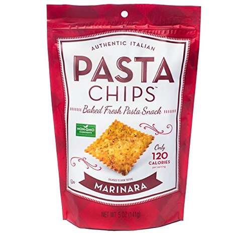 Baked Pasta Chips - Vintage Italia's Pasta Chips Make Semolina Enjoyable in Snack Form