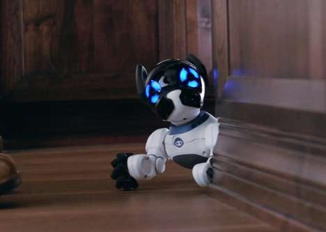 Intelligent Robot Pets - The 'CHiPK9' Robot Dog is Programmed to Offer Loyalty and Affection