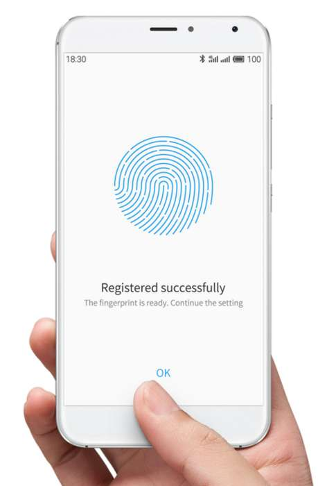 360-Degree Fingerprint Phones - The Meizu Pro 5's Sensor Can Handle 360-Degree Finger Movements