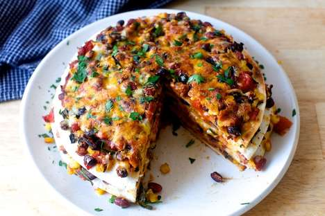 Savory Taco Tortes - This Savory Layered Cake Presents Mexican Flavor in a Unconventional Format