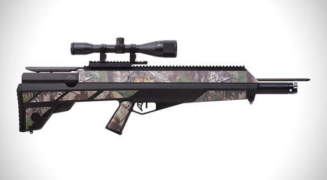 Camouflaged Bow Guns - The Crosman Airbow Offers Precise Target Shooting with a Hybrid Design