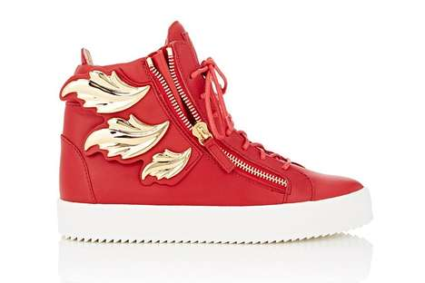 Rap Album Sneakers - Giuseppe Zanotti Honors G.O.O.D Music's Cruel Summer with His Latest Kicks