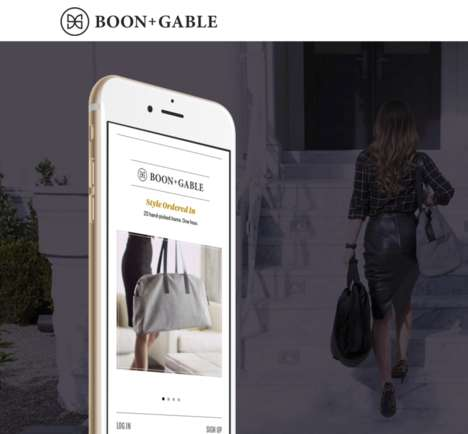 Experiential Personal Shopping Services - This Company Sends Personal Shoppers Directly to Customers