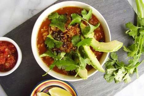 Savory Mexican Oatmeals - This Unconventional Porridge Recipe is Prepared with Beans and Avocado