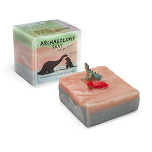 Archaeological Dinosaur Soaps - These Children's Bath Products Feature Hidden Prehistoric Toys