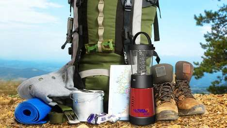 Saltwater-Powered Lanterns - The Hydra-Light PL-500 Lantern is Powered By Saltwater