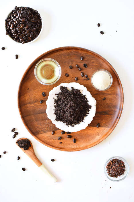 Chocolate Coffee Exfoliants - The Coffee Cacao Scrub Offers a Natural Pumice Gentle Enough on Skin