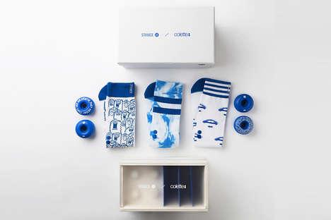 Fashionable Artwork Socks - The STANCE x Colette Sock Sets Feature High-Fashion Graphic Prints