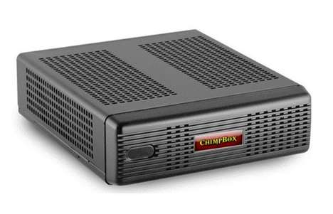 Noiseless Mini PCs - The 'ChimpBox' Desktop Fanless PC is Designed to Efficiently Run on Low Voltage