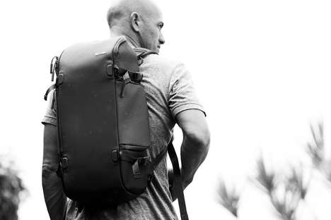Camera-Friendly Knapsacks - The Incase Kelly Slater Pro Backpack is Designed for Technology Use