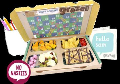 Kid-Friendly Snack Subscriptions - This Service Allows Parents to Create Custom Snack Boxes for Kids