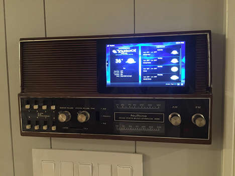 Retro Smart Home Systems - This Home Audio System was Given a DIY Technology Overhaul