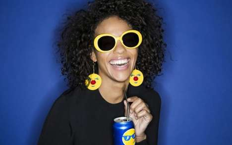 Emoji-Inspired Sunglasses - Jeremy Scott is Creating Emoji Sunglasses for the Pepsi Brand