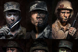The Wild Soldiers Series Interprets Men Turning Into Beasts for War
