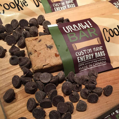 Personalized Energy Bars - This Company Lets Customers Order Custom Energy Bars