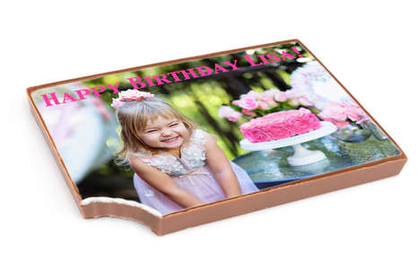 Personalized Photo Chocolates - Chocomize's 'Edible Picture Bar' Creates Easy Custom Chocolates
