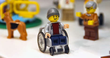 Wheelchair LEGO Toys - This Wheelchair LEGO Man Figure is Part Of the 'Fun In the Park' Set