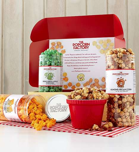 Personalized Popcorn Kits - The Popcorn Factory Lets Consumers Choose Their Favorite Flavors
