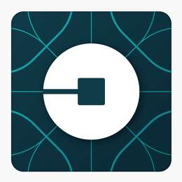 Atomically Revamped Logos - The New Uber Logo Features An Atom Symbol