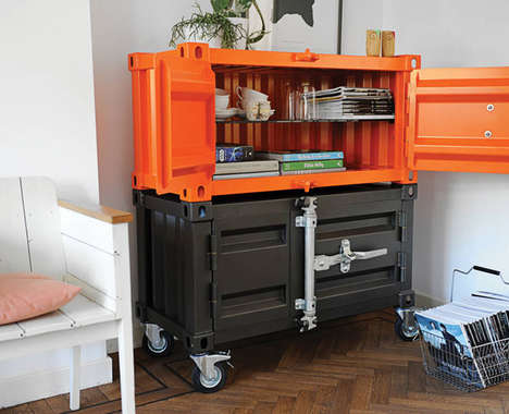 Shipping Container Cupboards