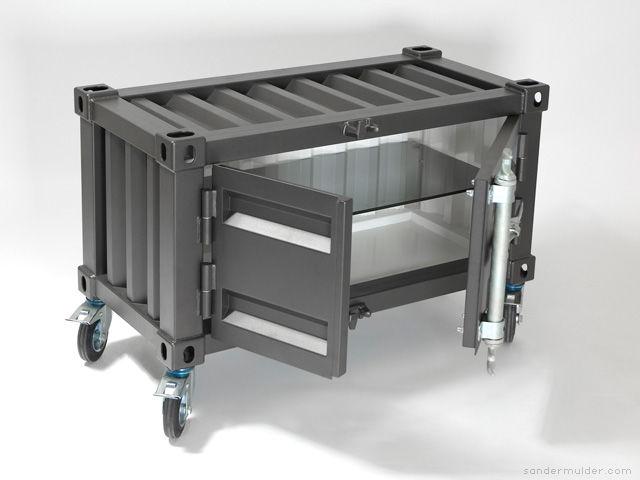 Морской контейнер в дизайне интерьера