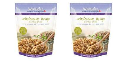 Antioxidant Cannabis Granolas - The Wholesome Hemp Cereal Offers Transparent Ingredient Branding
