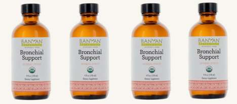 Botanical Immune Syrups - The Banyan Bronchia Provides a Liquid Boost for the Respiratory System